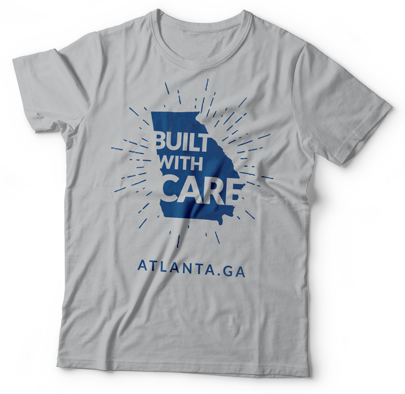 Built with Care Atlanta Tee Shirt